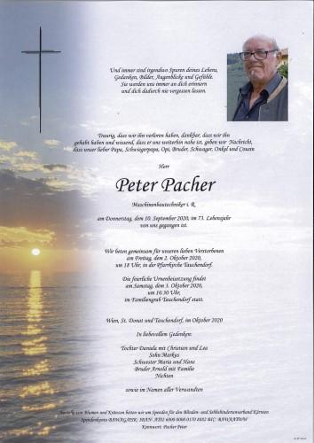 Peter Pacher