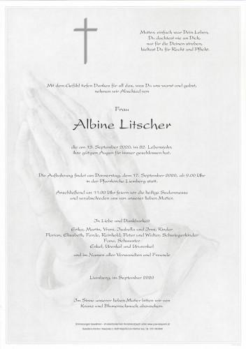 Albine Mathilde Litscher
