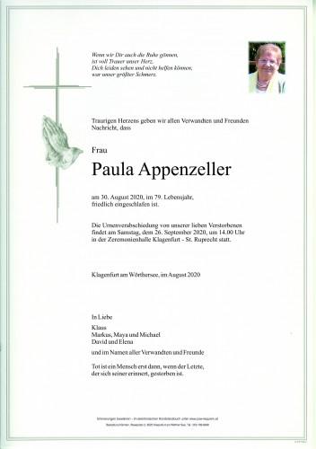 Paula Appenzeller