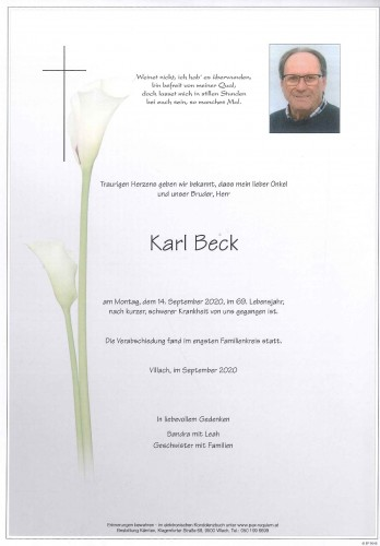 Karl Beck