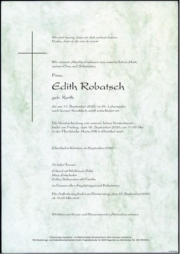 Edith Robatsch
