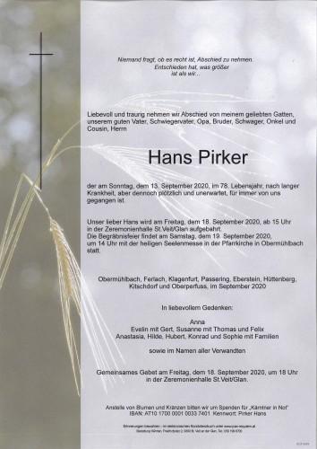 Hans Pirker