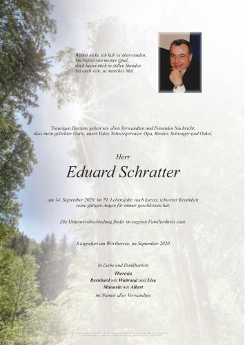 Eduard Schratter