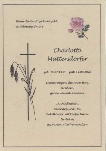 Charlotte Mattersdorfer