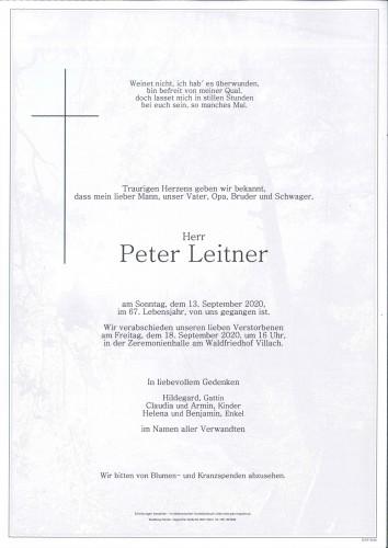 Peter Leitner