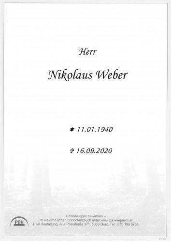 Nikolaus Weber