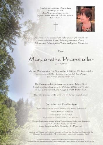 """Margarethe Pramstaller """"Gretl"""""""