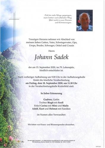 Johann Sadek