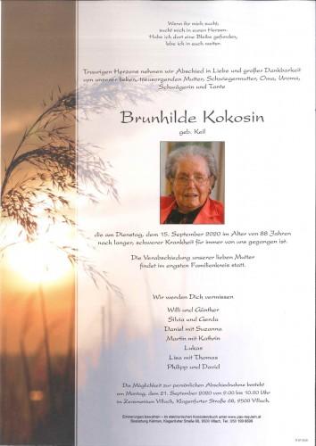 Brunhilde Kokosin, geb. Keil
