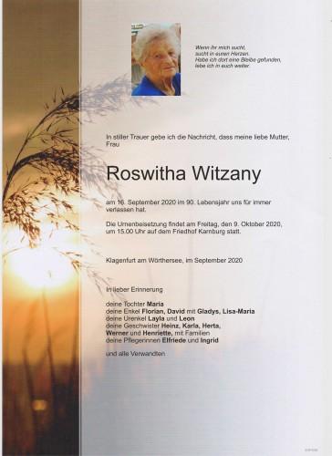 Roswitha Witzany