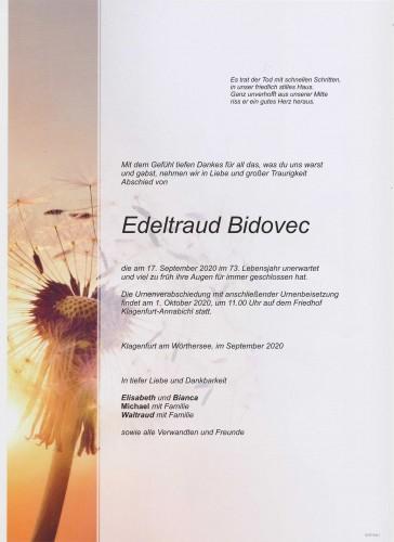 Edeltraud Bidovec