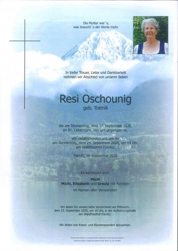 Theresia Oschounig