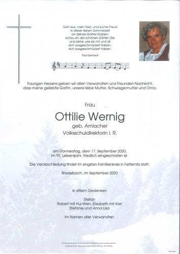 Ottilie Wernig