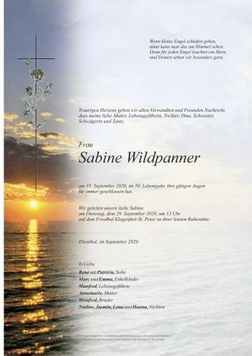 Sabine Wildpanner