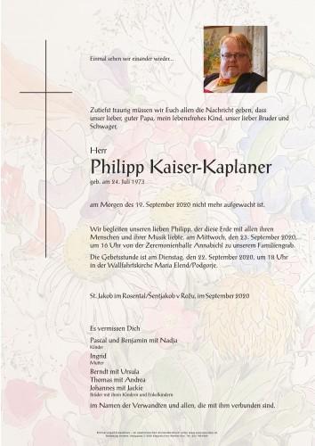 Philipp Kaiser-Kaplaner