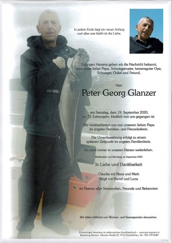 Peter Georg Glanzer