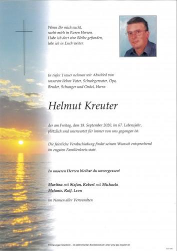 Helmut Kreuter