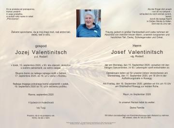 Josef Valentinitsch