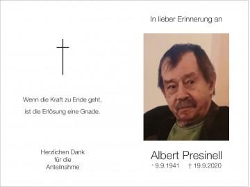 Albert Presinell