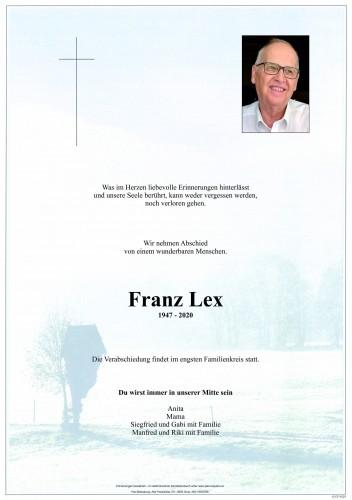Franz Lex