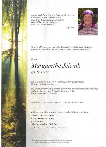 Margarethe Jelenik