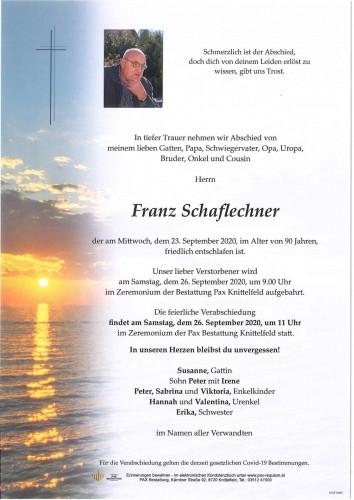 Franz Schaflechner