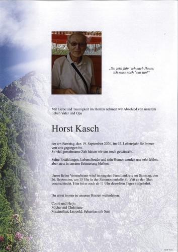 Horst Kasch