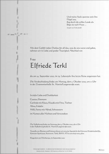 Elfriede Terkl