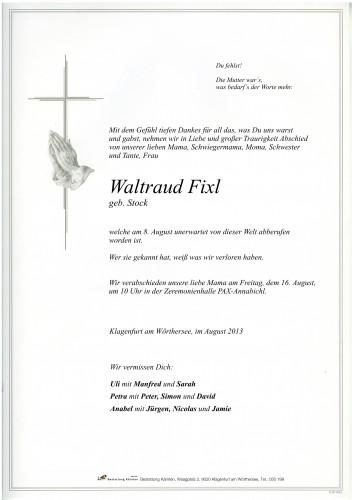 Waltraud Fixl