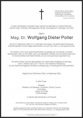 Wolfgang Dieter Poller
