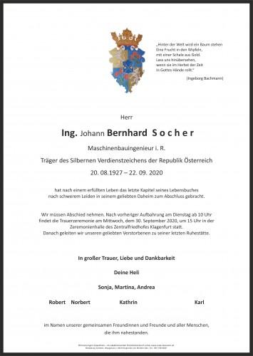Ing. Bernhard Socher