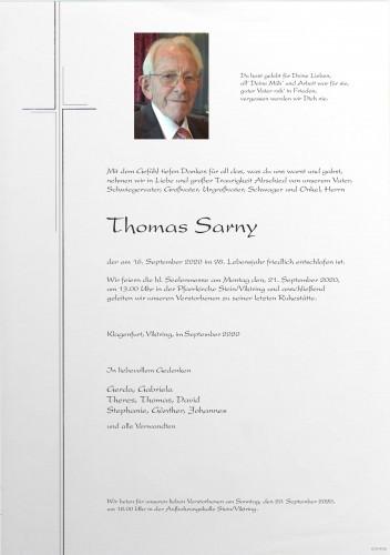 Thomas Sarny