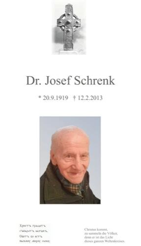 SCHRENK Josef