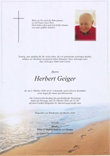 Herbert Geiger