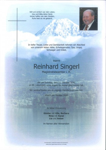 Reinhard Singerl