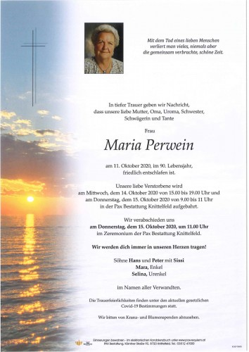 Maria Perwein
