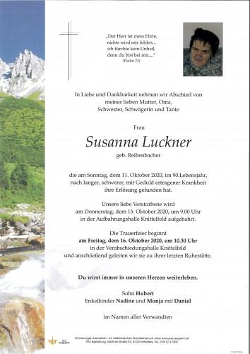 Susanna Luckner