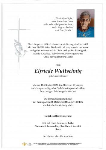 Elfriede Wultschnig