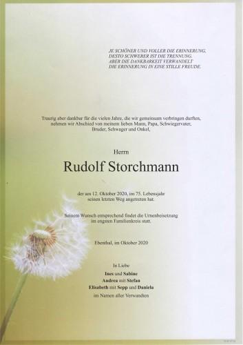 Rudolf Storchmann