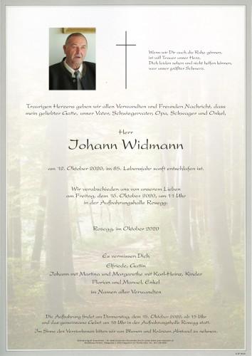 Johann Widmann