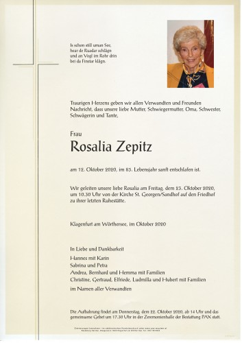 Rosalia Zepitz