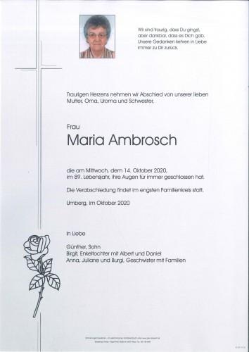 Maria Ambrosch