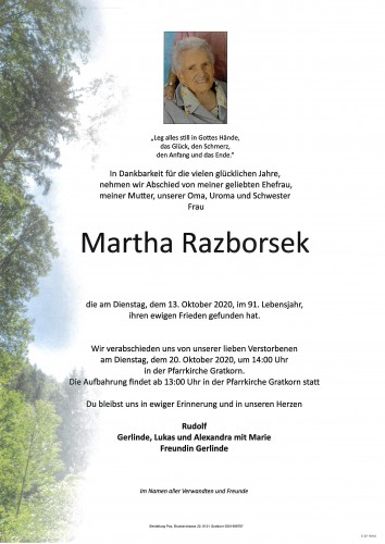 Martha Razborsek