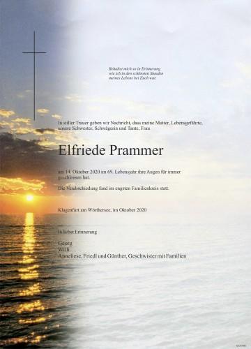 Elfriede Prammer