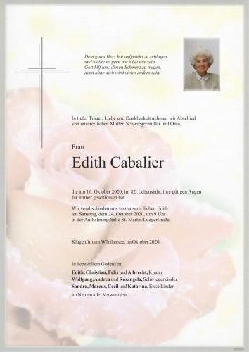 Edith Cabalier