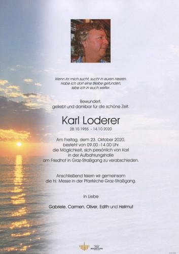 Karl Loderer