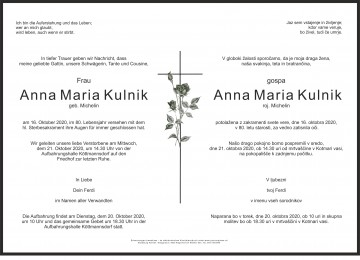 Anna Maria Kulnik