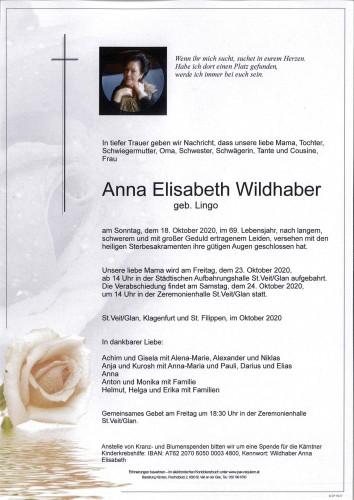Anna Elisabeth Wildhaber