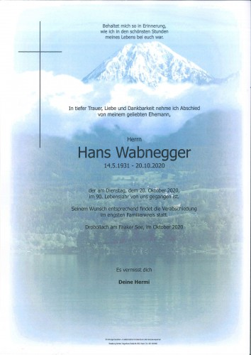 Johann Wabnegger