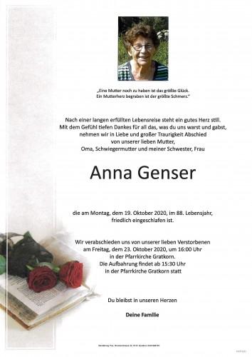Anna Genser